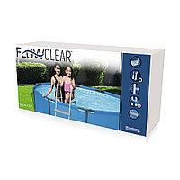 Лестница для каркасного, надувного бассейна, Bestway 58430, размер 84 см, фото 1