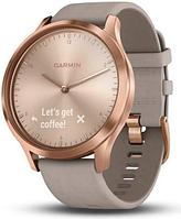 Спортивные часы Garmin vívomove HR Premium Rose Gold with Gray Suede (010-01850-09)
