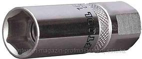 Головка торцевая свечная, 16 мм, с резиновой вставкой, KRAFTOOL