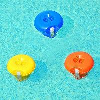 Поплавок-дозатор с термометром, Bestway 58209, диаметр дозатора 18,5 см, фото 1