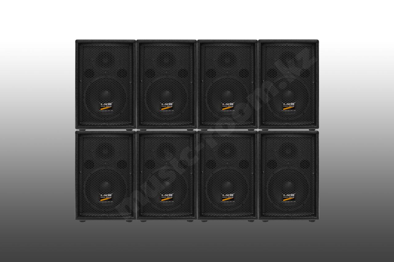 Двухполосная акустическая система комплект из восьми колонок LNM Protech S08 - 2000 Ватт