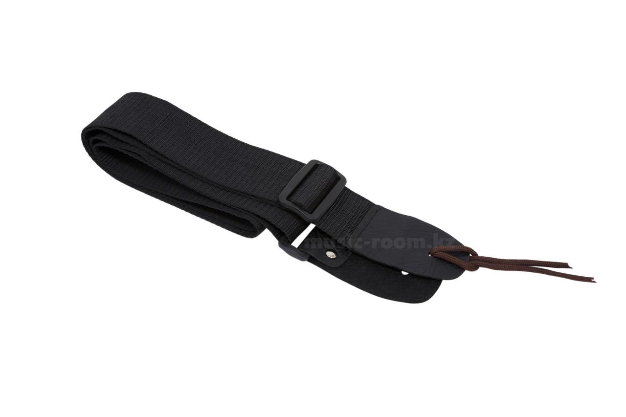 Ремень для гитары  черный