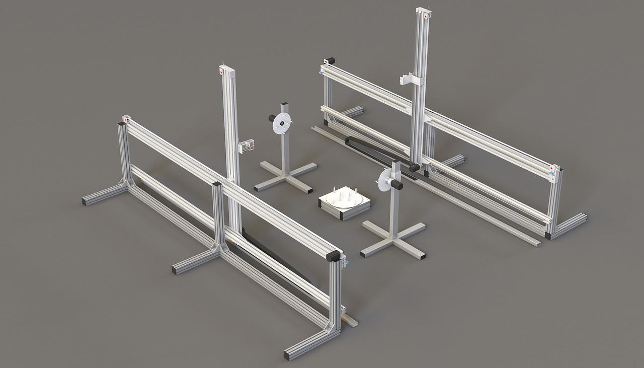 3D Станок для фигурной резки пенопласта и поролона ФРП-04