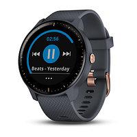 Спортивные часы Garmin vívoactive® 3 Music, синий гранит (010-01985-33)