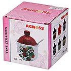 Сахарница с ложкой Agness «Family», фото 2