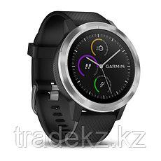 Спортивные часы Garmin vívoactive 3, серебристые с черным ремешком (010-01769-02), фото 3