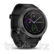 Спортивные часы Garmin vívoactive 3, черные с черным ремешком (010-01769-12), фото 3