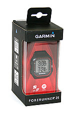 Спортивные часы Garmin Forerunner 25 Large Black & Red (010-01353-10), фото 3