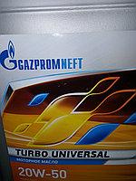 Моторное масло Газпром Турбо Универсал 20W50 30литров