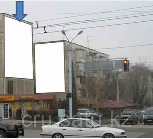 Ул. Сатпаева – уг. Брусиловского ТРЦ «АДК»