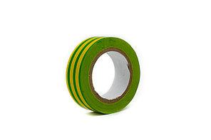 Изоляционная лента желто-зеленая 19мм*10м
