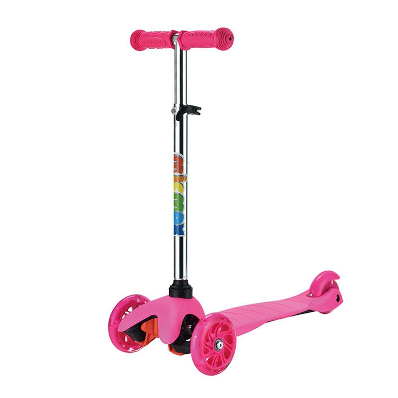 Самокат детский Micmax MG-02 розовый