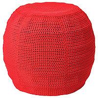 Пуф  для дома/сада ОТТЕРЁН / ИННЕРСКЭР красный ИКЕА, IKEA , фото 1