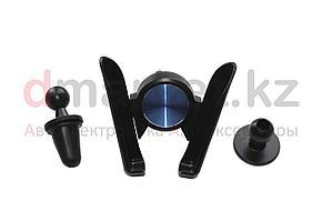 Держатель для телефона QXS002, в воздуховод, черный, пластик