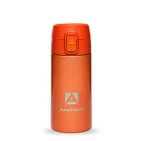 Термос ARCTICA DRINK (0,35л)(6ч)(металл)(с поилкой)-оранжевый R 84518
