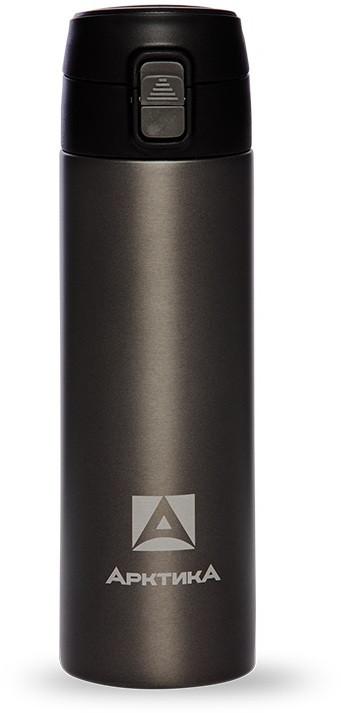 Термос ARCTICA DRINK (0,35л)(6ч)(металл)(с поилкой)-черный R 84519