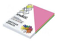 Бумага цветная INDEX Color, А4, 100 л., MIX intensiv
