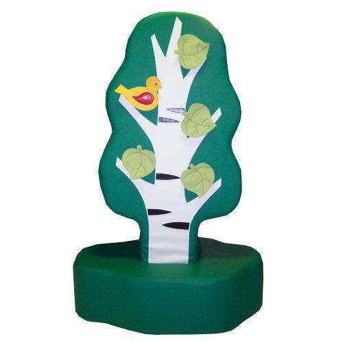 «Дидактическое дерево»  игрушка напольная дидактическая из 2-х частей