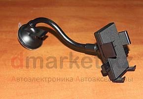 Держатель для телефона X7-X36, универсальный, на присоске, пластик, черный