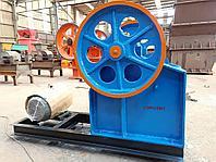 Щековая дробилка (3-4 т/ч) для дробления камней, руды, фото 1