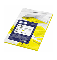 Бумага цветная OfficeSpace Intensive, А4, 80 г/кв.м., 50 л., желтая