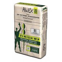 Шпатлевка AlinEX FINISH WP, цементная, 25 кг