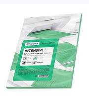 Бумага цветная OfficeSpace Intensive, А4, 80 г/кв.м., 50 л., зеленая