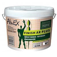 Шпатлевка AlinEX FINISH AR PLUS, полимерная, фасадная