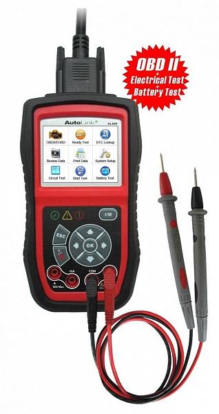 Сканер диагностический Autel Autolink AL539, OBD II