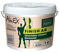 Шпатлевка AlinEX FINISH AR, полимерная, интерьерная