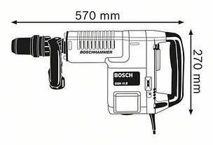 Отбойный молоток BOSCH GSH 11 E Professional  0611316708, фото 3