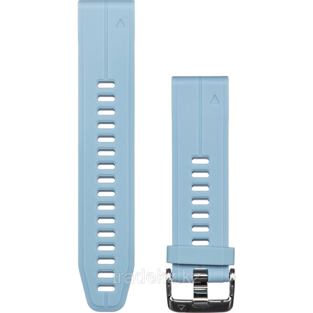Браслет для часов Garmin 5S Plus 20mm QuickFit силикон, цвет морской пены (010-12739-03)