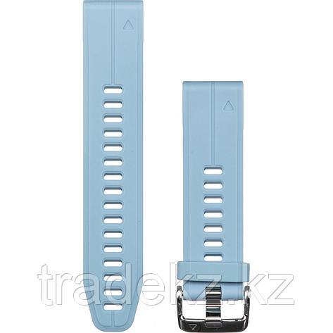 Браслет для часов Garmin 5S Plus 20mm QuickFit силикон, цвет морской пены (010-12739-03), фото 2