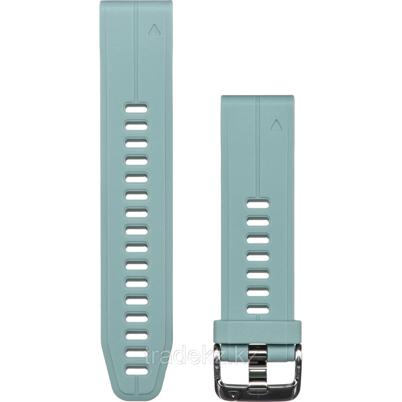 Браслет для часов garmin 5S Plus 20mm QuickFit серо-зеленый (010-12739-06)