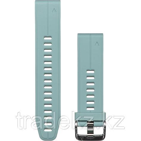 Браслет для часов garmin 5S Plus 20mm QuickFit серо-зеленый (010-12739-06), фото 2