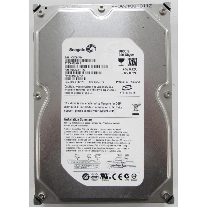 HDD 300GB Seagate Sata