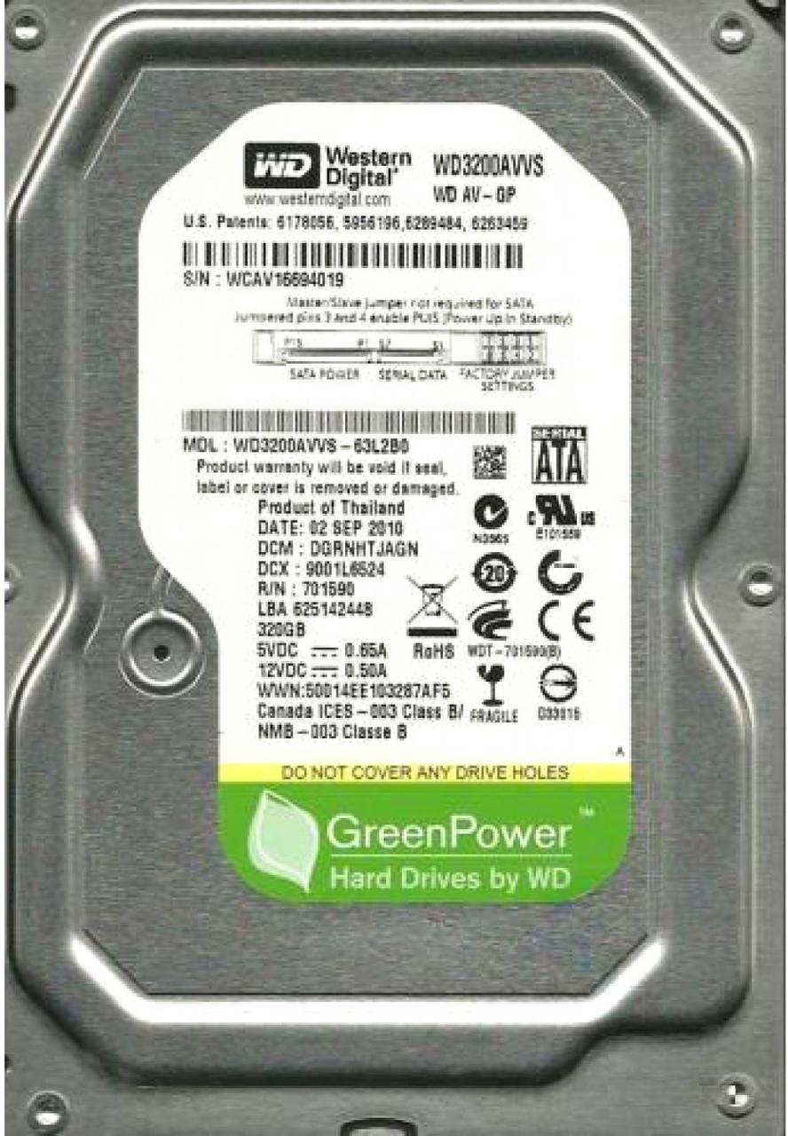 HDD 320GB WD SATA