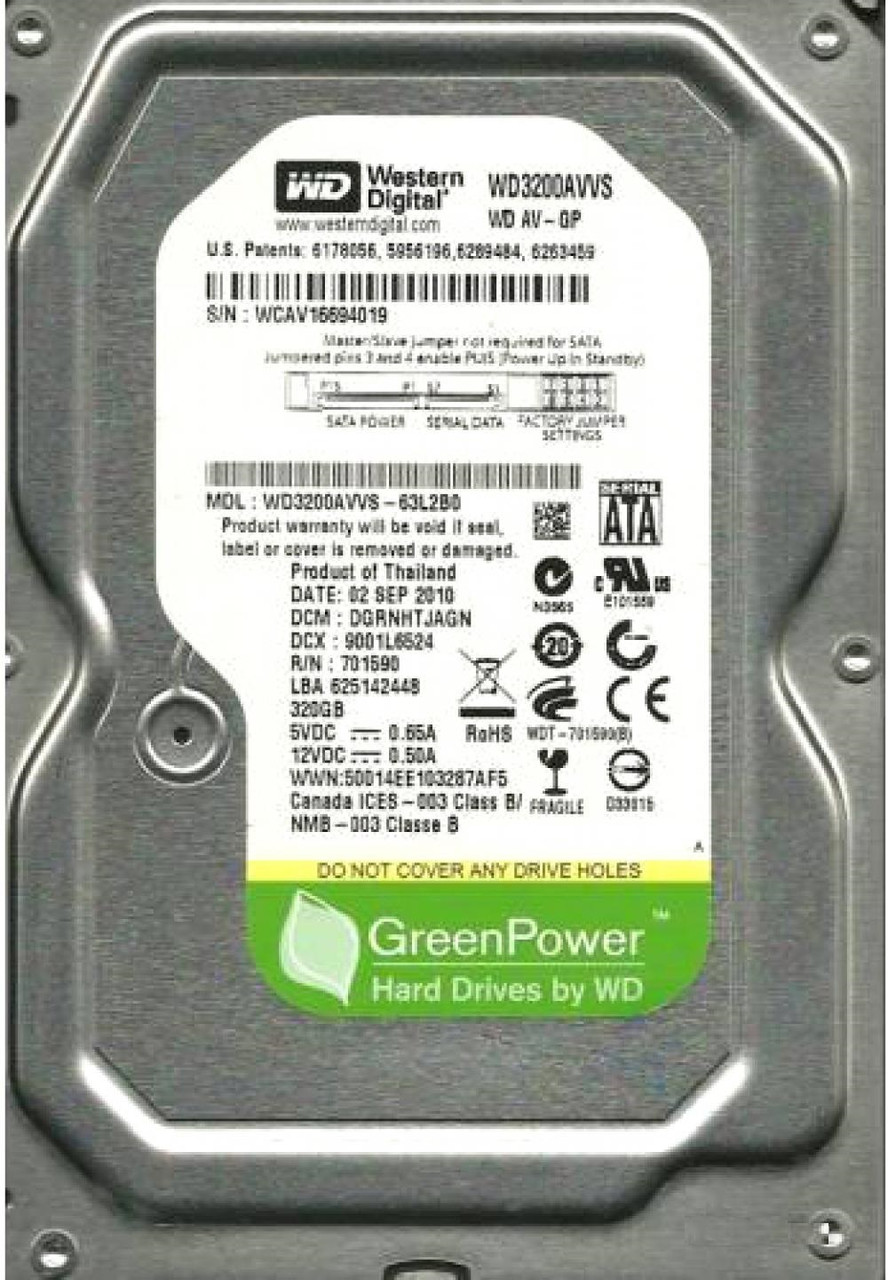 HDD 500GB WD WD5000AADS 32MB