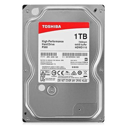 HDD 1TB Toshiba Sata, фото 2