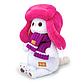 Мягкая игрушка Ли-Ли в меховой шапке 24см, фото 3