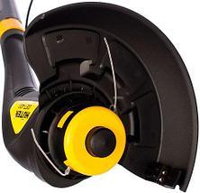 Триммер-электрокоса электрический HUTER 350W для стрижки газона, фото 3