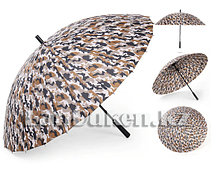 Зонт трость камуфляжный 24 спицы (коричневый)