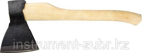 Топор кованый ИЖ ГОСТ 18578-89 с округлым лезвием и деревянной рукояткой, 1.2кг, фото 2