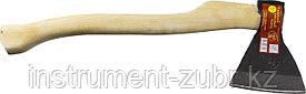 """Топор """"ИЖ"""" ГОСТ 18578-89 с удлиненной деревянной рукояткой, 1,2кг"""