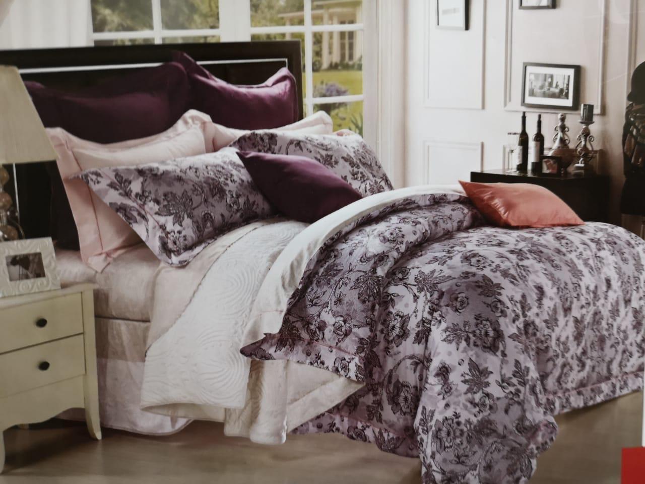 Комплект постели, длинноволокнистый сатин. - фото 1