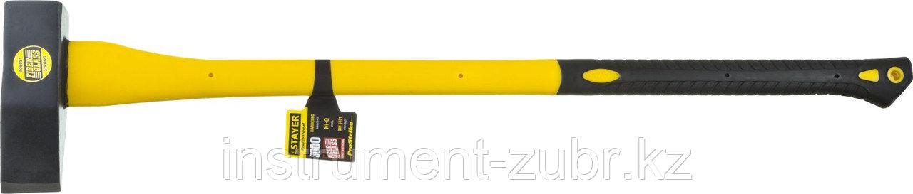 """Колун STAYER """"PROFESSIONAL"""" кованый с двухкомпонентной фиберглассовой рукояткой, 3кг/900мм"""