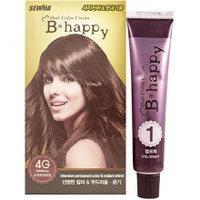 B Happy ( 4G ) - Краска для волос - Мягкий шатен