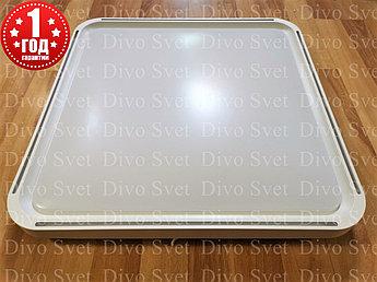 Светодиодный потолочный светильник 40*2 Вт, 50*50 см квадратный. Настенный, потолочный накладной LED 40*2 Вт.