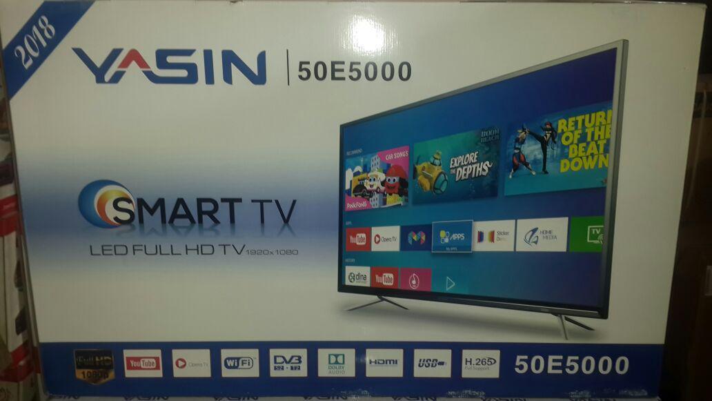 Телевизор YASIN LED-50E5000 SMART 4K, WI-FI - фото 2