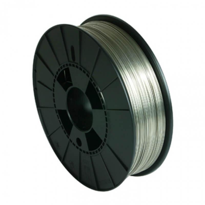 Проволока алюминиевая  диаметром 0,8-мм (кассета 2 кг)